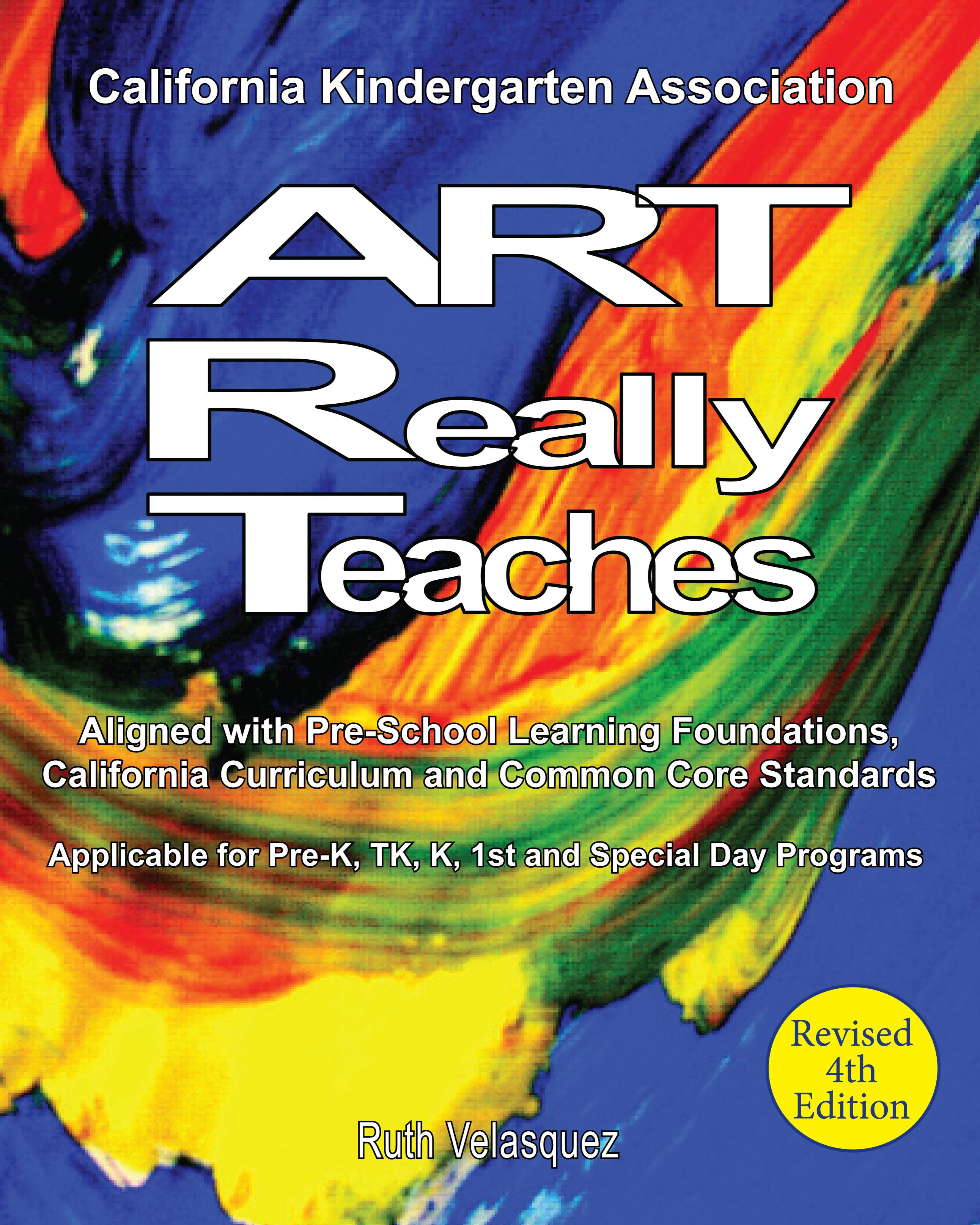 ART Really Teaches Front Cover 1 - California Kindergarten Standards